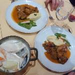 "my ""marmite du pecheur"" and my husband's lamb"