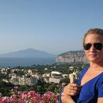 View of Mt. Vesuvius