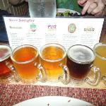 Micro brew sampler