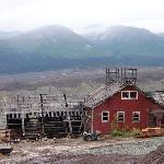 Kenicott Mine, across the valley