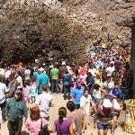 Este dia estaba super lleno de turistas