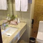 twinbeds standaardkamer toilet