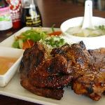 #7 Charbroiled Pork Steak (Popular)