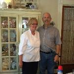 Bill and Judy, the innkeepers
