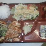 Lunch BOX w-Hibachi Salmon