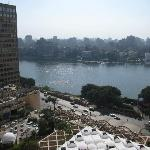 View of the Nile River from the balcony