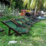 the deckchairs