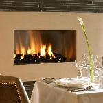 Open Fire in the Restaurant Merlot