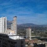 view from fron door of apartment