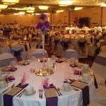 Wedding reception in Heritage Ballroom