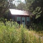 Cabin 7 from walkway