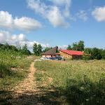 Retreat Centre taken from Cabin 7