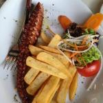 octopus in red wine