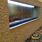 Water Wall at the lounge