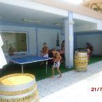 ping pong, billa y futbolin