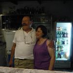 Gina y su esposo