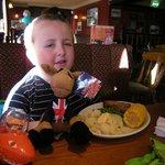 Mathews birthday tea with Super Hungry Horse.