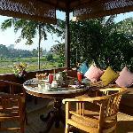 豐盛的早餐可在私人陽台享用