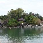 Kaya Mawa seen from the lake