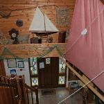 Foxford Lodge Entrance Hall
