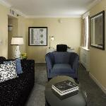 Superior Suite Sitting Area