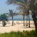 privater Strand-Bereich