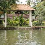 Entry to the resort by Boat
