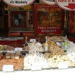 market stall full of goodies