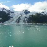 One of several glaciers in a row
