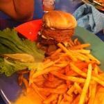 HUGE burger!!