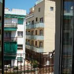 salida al balcón