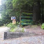Front Entrance Sign