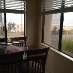 kitchen view of suite 139 just beautiful!!!!