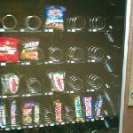 vending area in common area...never maintained like the rest of the hotels.