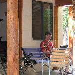 Porch at Casita D