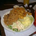 The cracked conch plate...WOW!