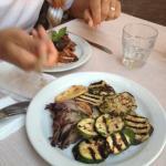 verdure grigliate e caponata