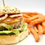 Uplands Hawaiian Burger