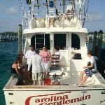 A great day out on the Carolina Gentleman! He can take you down to Honeymoon Beach, too