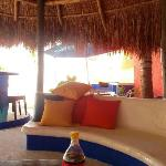 Palapa & grill area