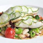 Spring flavored sea-bass