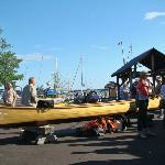Wooden Boat SHow, on the Commons