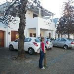 Outside De Hoek Manor