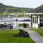 The Outdoor Gazebo on the River - Breathtaking!