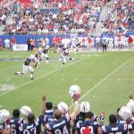 The first kickoff