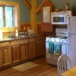 Cabin 1 - Peak Perspective: Kitchen