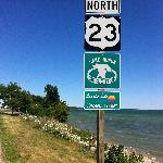 National road North Michigan 23