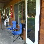 Back patio door area.