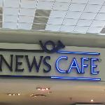 An excellent airport cafe