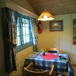 Table in cabin #8